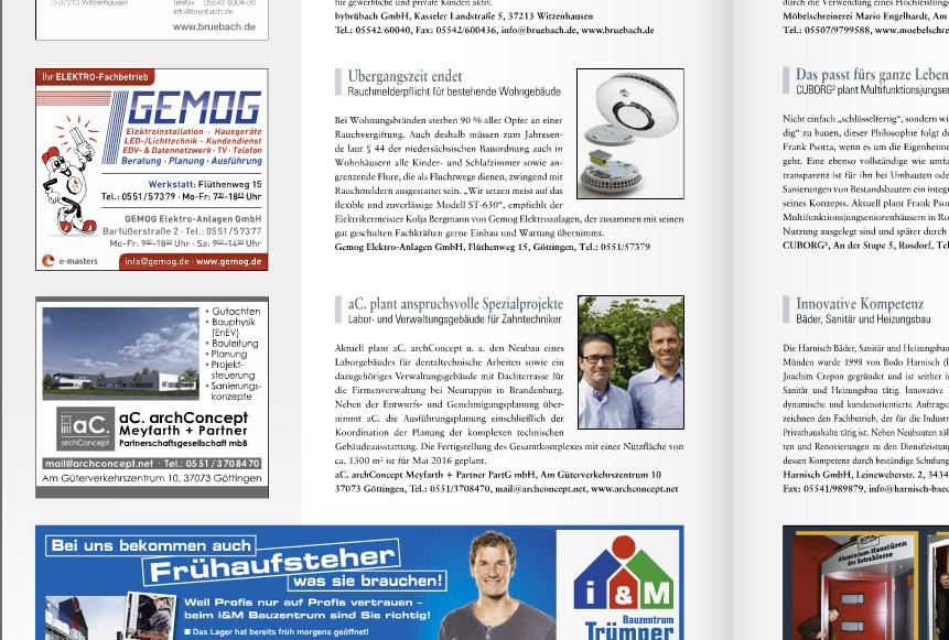 "aC.archconcept im Magazin ""Charakter"""