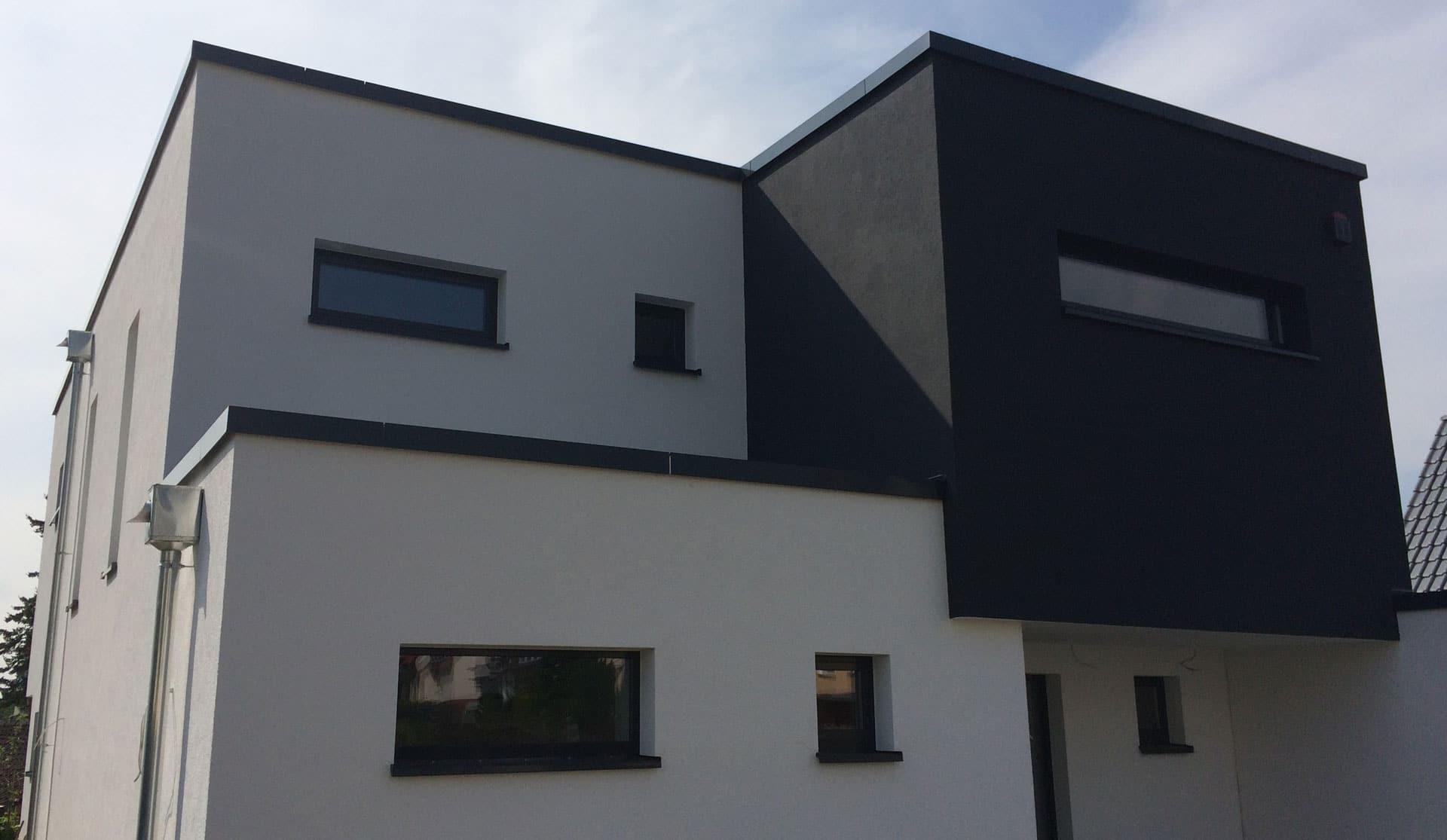 Einfamilienhaus neubau mit doppelgarage  Neubau Einfamilienhaus mit Doppelgarage in Göttingen-Geismar • aC ...