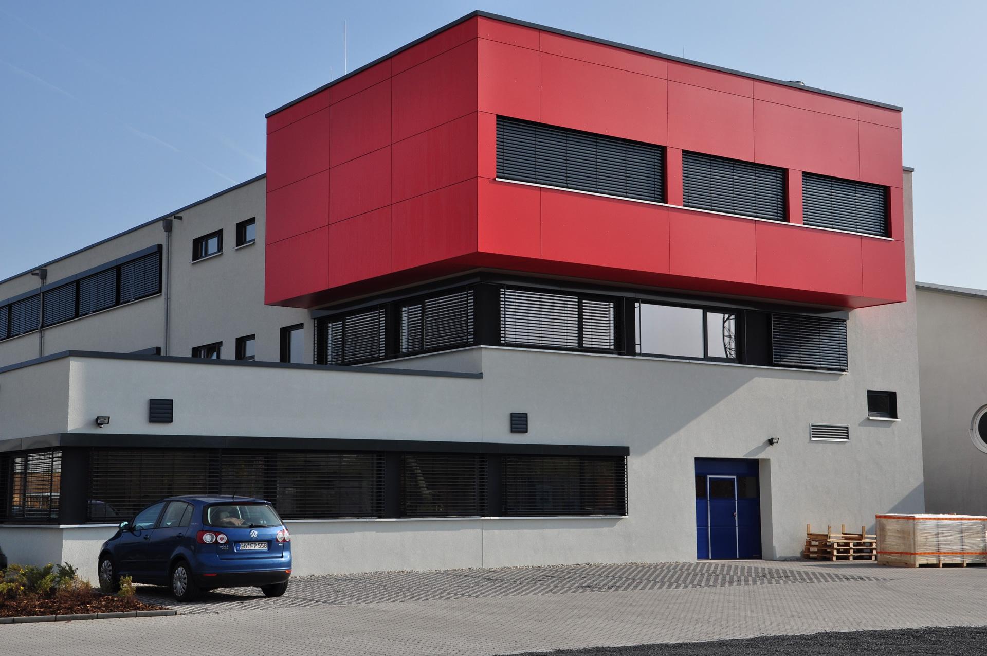 Erweiterungsbau Labor-/Verwaltungsgebäude, Göttingen