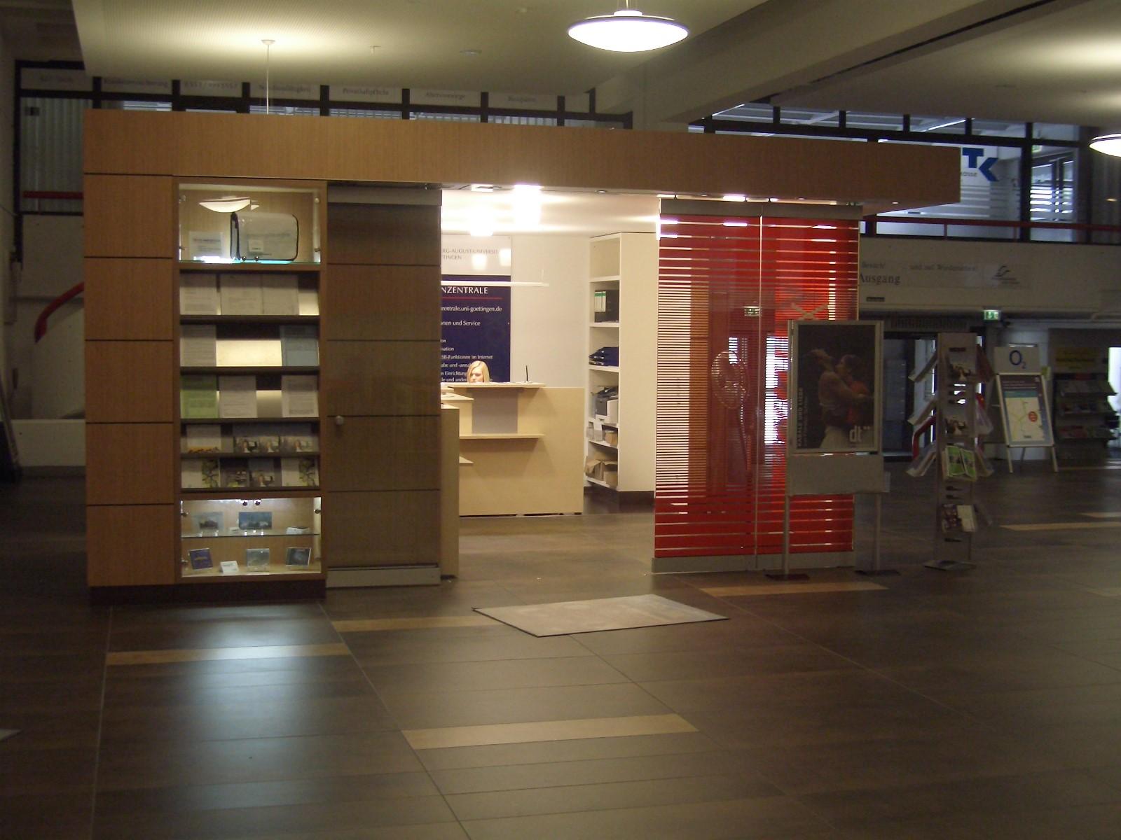 Brandschutz-/Hygienesanierung Zentralmensa Göttingen