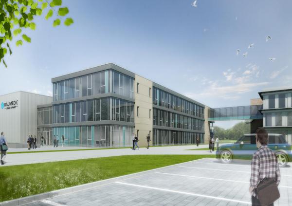 RAUMEDIC AG – Neubau Verwaltungsgebäude und Reinraumfertigung